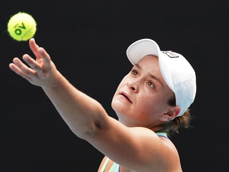 Hat sich in Viertelfinale der Australian Open gespielt: Ashleigh Barty