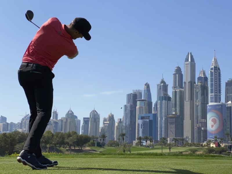 Sebastian Heisele spielte am Finaltag der Dubai Desert Classic nur eine schwache 83er-Runde