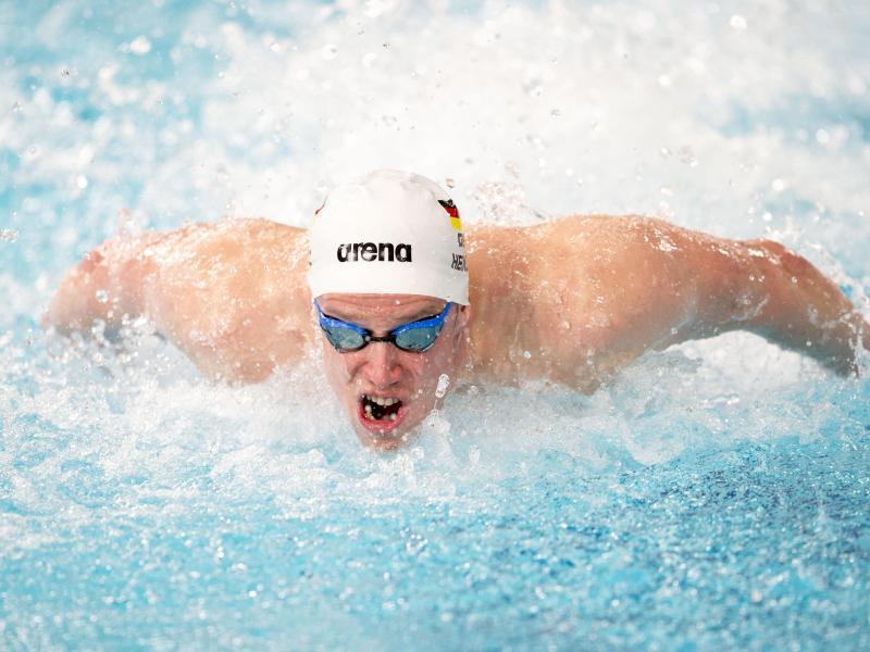 Philip Heintz erfüllte die Olympia-Norm über 200 Meter Lagen. Foto: Ian Rutherford/PA Wire/dpa