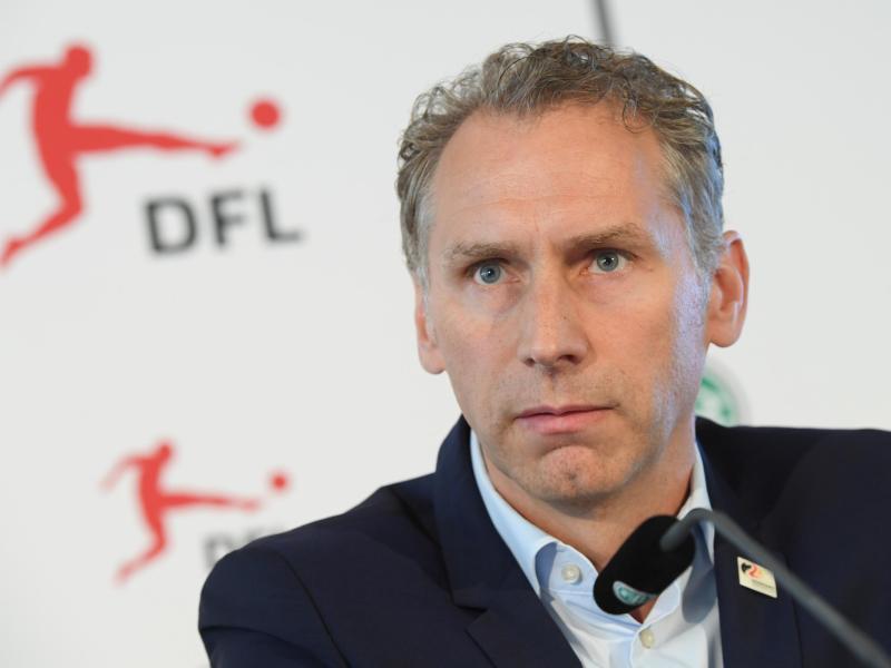 Ansgar Schwenken stellte den DFL-Report vor