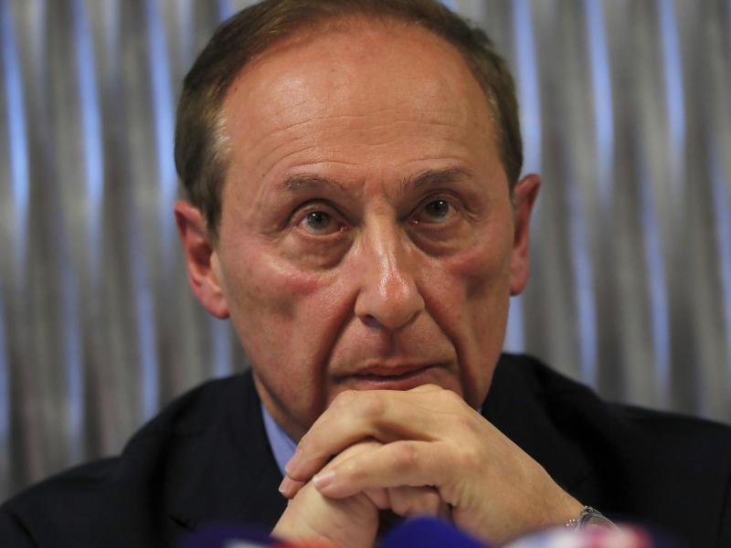 Als Frankreichs Eissportverband-Präsident zurückgetreten: Didier Gailhaguet