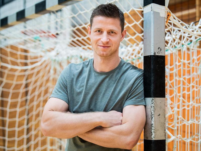 Martin Strobel hört am Saisonende mit dem Handballsport auf