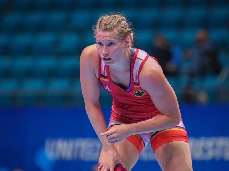 Hat bei der EM in der Hoffnungsrunde noch Chancen: Aline Rotter Focken