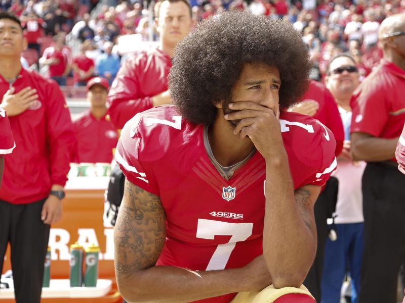 Trainiert weiterhin fünfmal in der Woche: NFL-Aufrührer Colin Kaepernick