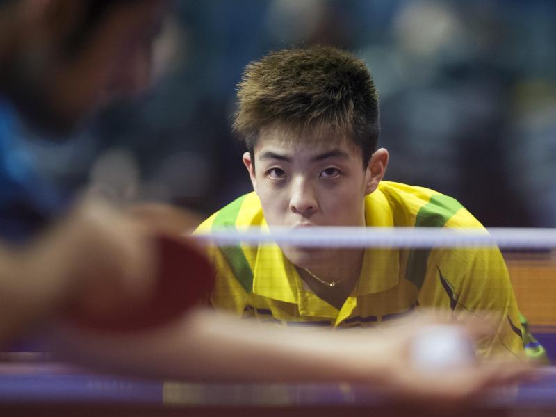 Qiu Dang hat zum ersten Mal in seiner Karriere ein internationales Turnier gewonnen