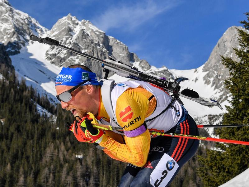 Für Erik Lesser ist die Biathlon-Saison beendet