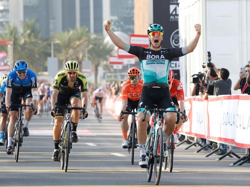 Sichert sich den Sieg bei der ersten Etappe der UAE-Tour: Pascal Ackermann