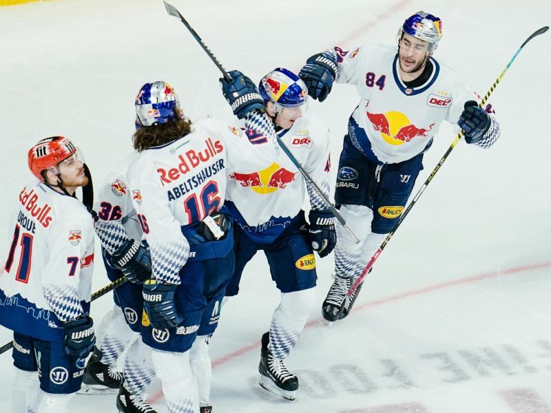 Der EHCRed Bull München hat sich vorzeitig für die Eishockey-Champions-League qualifiziert