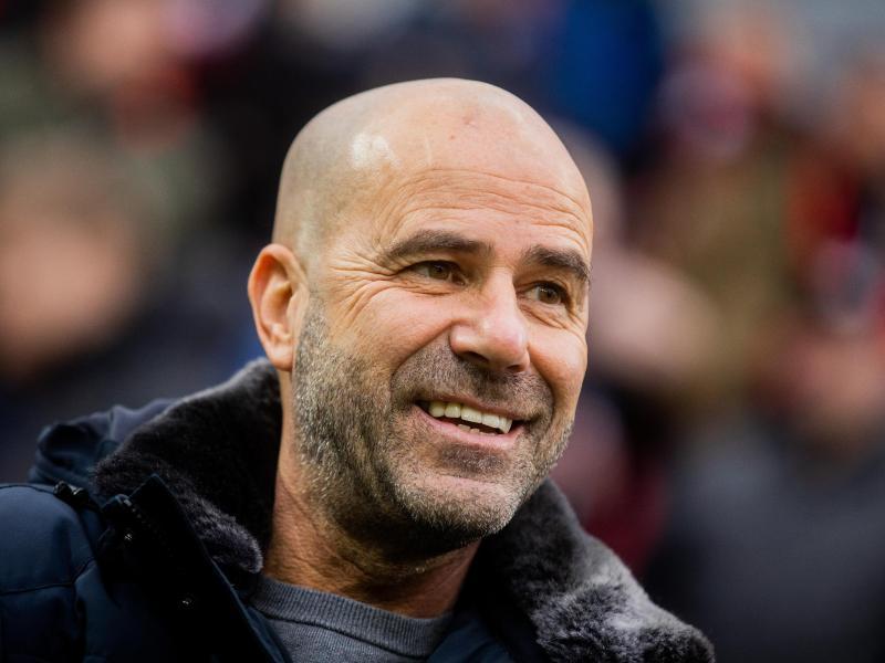 Leverkusens Trainer Peter Bosz kann neben Deutsch auch Französisch