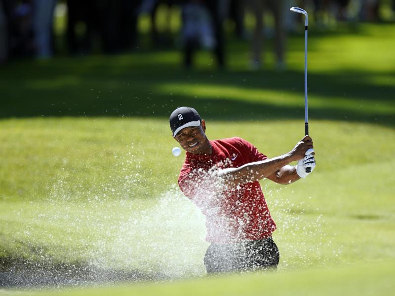 Tiger Woods hat derzeit wieder Rückenprobleme
