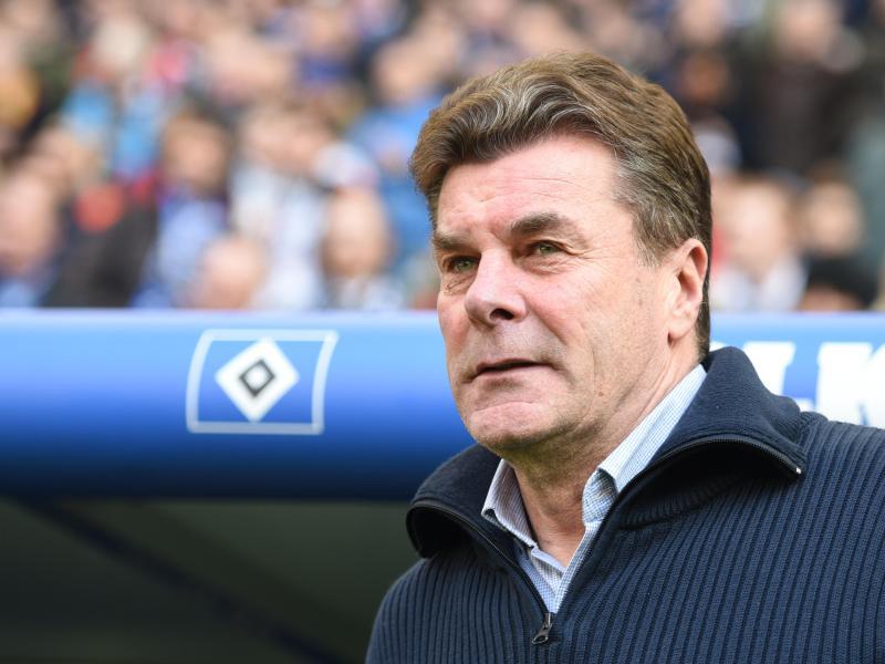 HSV-Coach Dieter Hecking dürfte sein Team zum Training schicken