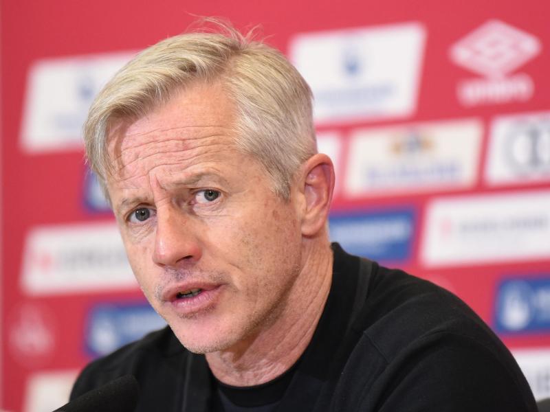 Nürnberger Trainer Jens Keller befindet sich derzeit in Quarantäne