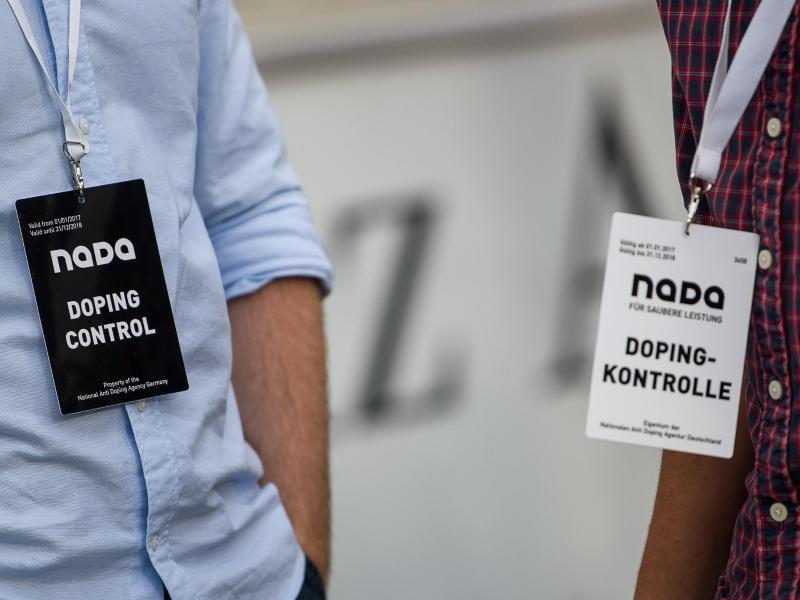 Dopingkontrollen sind in Deutschland als Folge der Coronavirus-Pandemie ausgesetzt