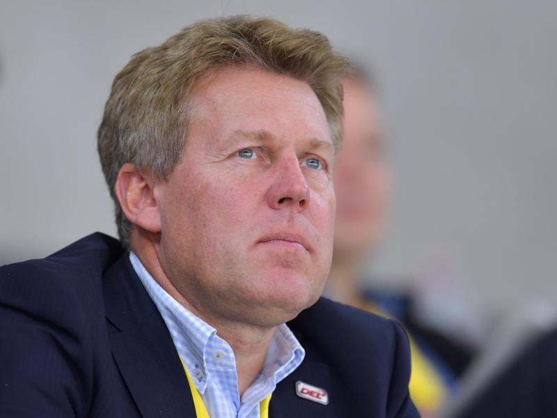 Gernot Tripcke ist der Geschäftsführer der Deutschen Eishockey Liga