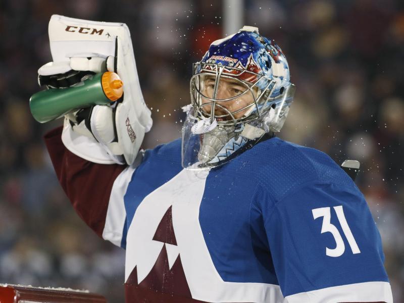 Hofft auf die Fortsetzung der NHL-Saison: Philipp Grubauer