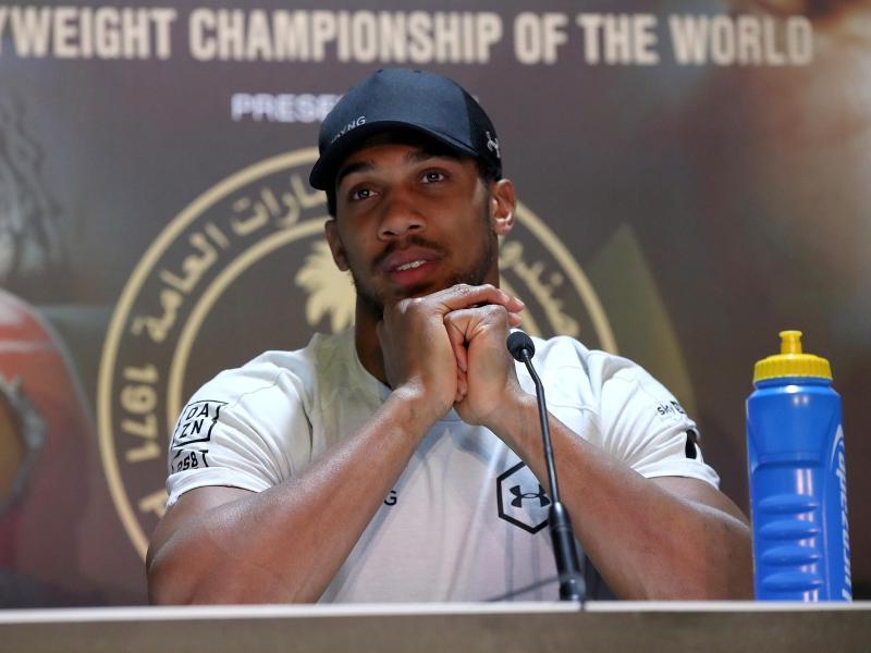 Anthony Joshua ist einer der besten Schwergewichtsboxer der Welt