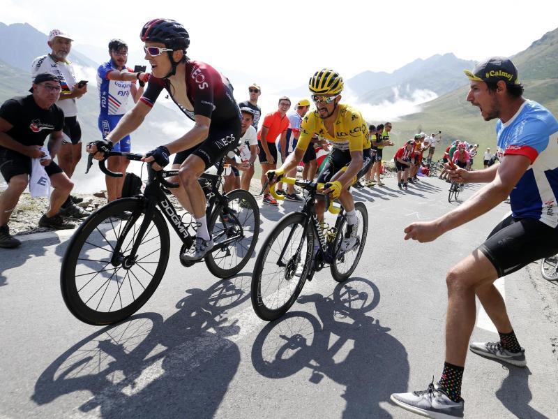 Kann sich eine Tour ohne Zuschauer nicht vorstellen: Ex-Sieger Geraint Thomas (l)