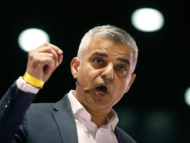 Saliq Khan ist Bürgermeister von London