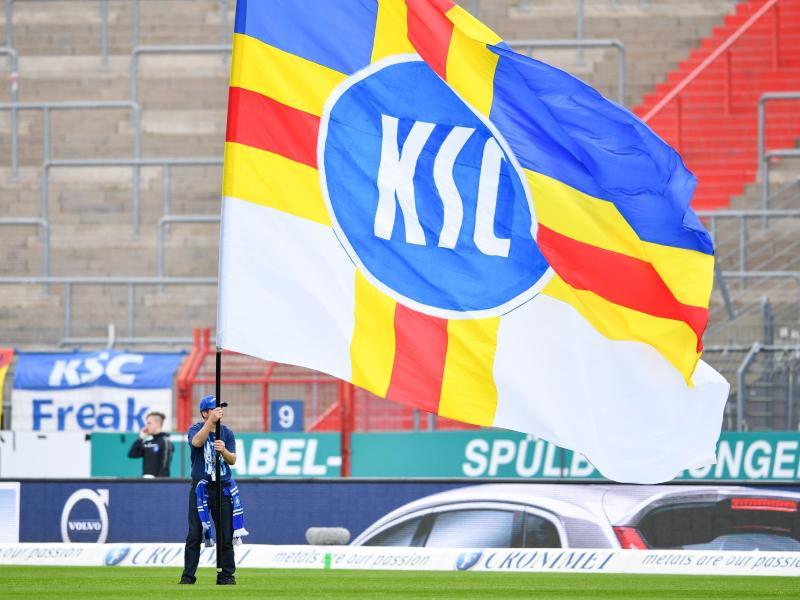 Der Karlsruher SC ist wegen des Corona-Krise von der Insolvenz bedroht