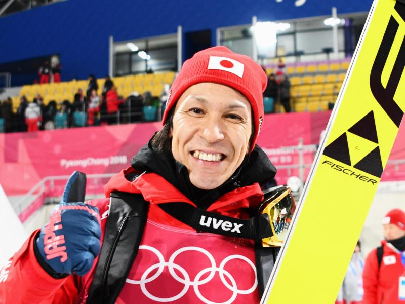 Denkt noch nicht ans Aufhören: Japans Skisprung-Oldie Noriaki Kasai