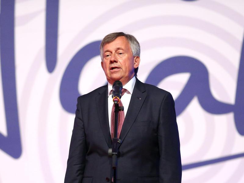 Michael Wiederer, Präsident der Europäischen Handballföderation (EHF).