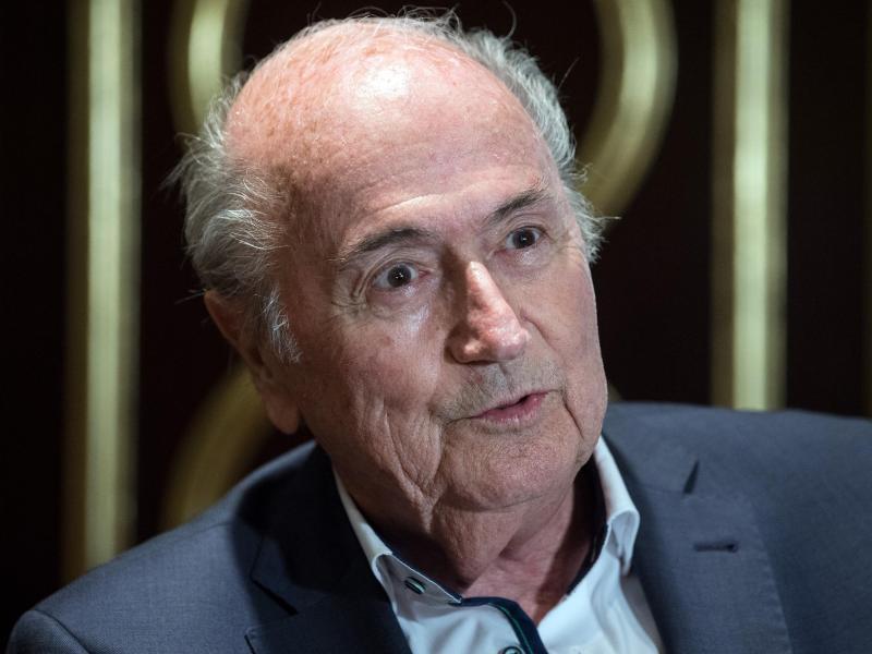 Der ehemalige FIFA-Präsident Sepp Blatter ist von der Idee begeistert