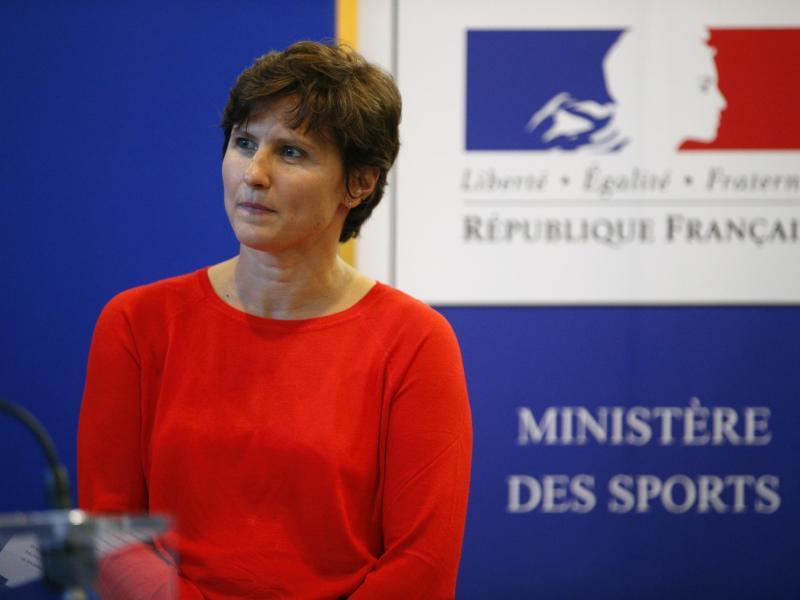 Bei der Bekämpfung der Pandemie muss für Roxana Maracineanu der Sport hintenanstehen