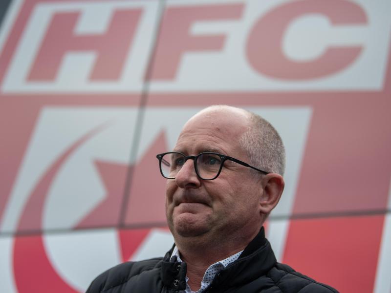 """Jens Rauschenbach, Präsident des Halleschen FC, hält einen Umzug für """"Wettbewerbsverzerrung"""""""