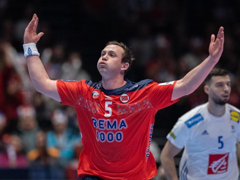 Wird beim Finalturnier der Champions League für den THW Kiel auflaufen: Der norwegische Handball-Star Sander Sagosen