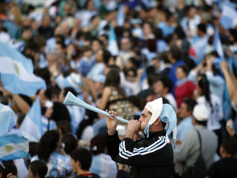 Die Fußball-Fans müssen zuhause bleiben: Die laufende Saison in Argentinien wurde abgebrochen