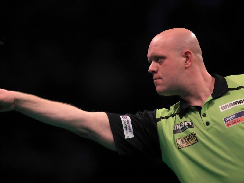 Spielt nicht bei der Darts-Home-Tour mit: Michael van Gerwen