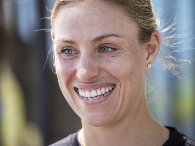 Hält sich aktuell mit Trainingseinheiten in ihrer Tennis-Akademie in Puszczykowo fit: Angelique Kerber