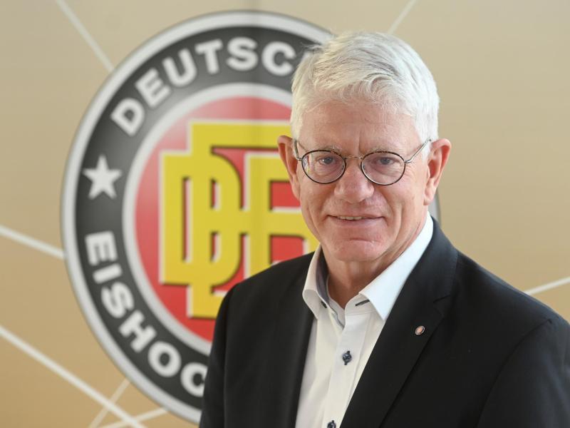 Franz Reindl ist der Präsident des deutschen Eishockey-Bundes (DEB)