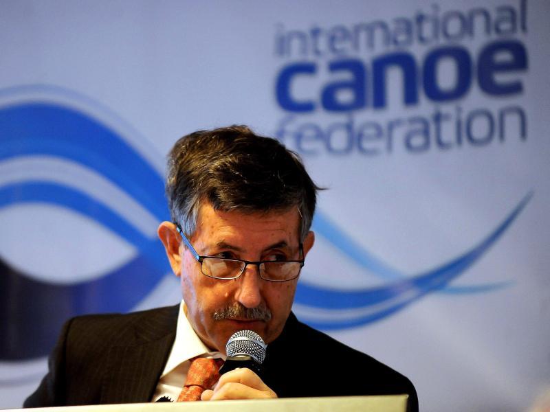 Seit 2008 Präsident des Kanu-Weltverbandes (ICF): José Perurena López