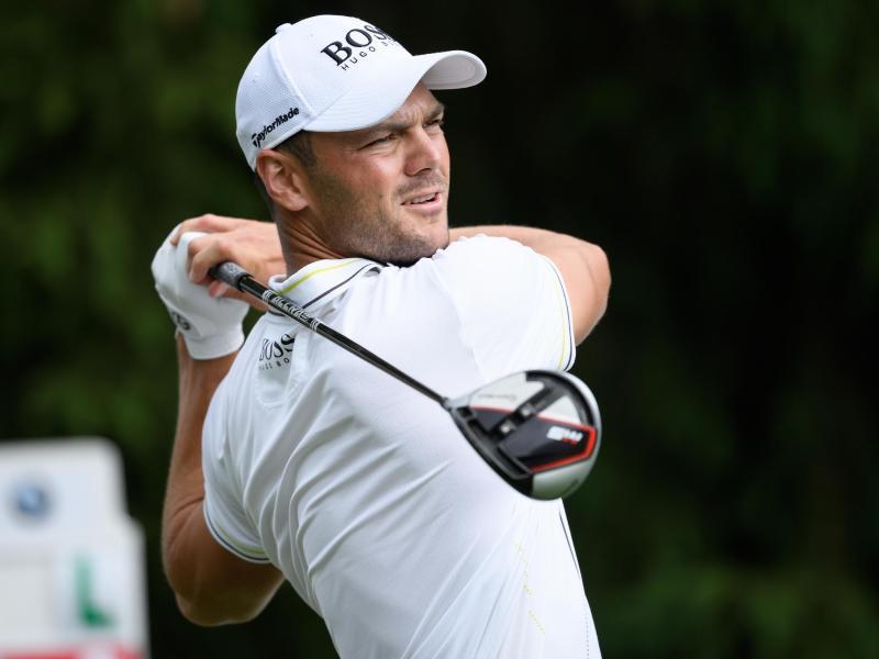 Martin Kaymer spielt virtuelles Golf für den guten Zweck