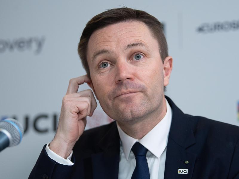 David Lappartient ist der Präsident des Internationalen Radsport-Verbandes (UCI)
