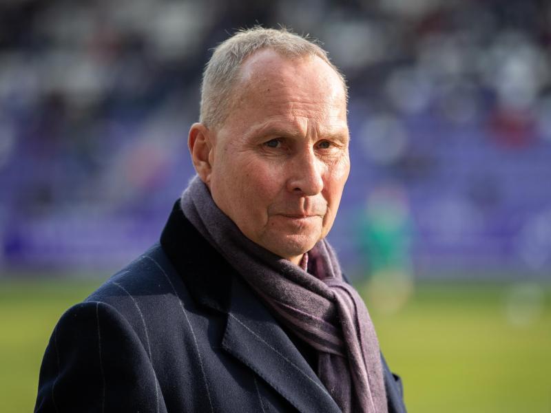 Helge Leonhardt, Präsident des Zweitligisten FC Erzgebirge Aue