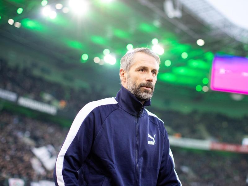 Musste mit Gladbach bereits ein Geisterspiel gegen Köln bestreiten: Borussia-Coach Marco Rose