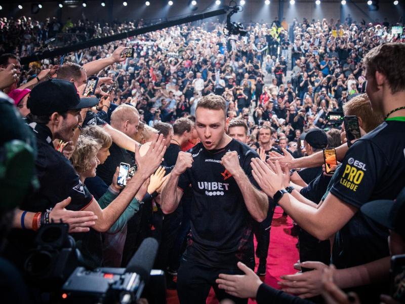 Astralis um Lukas «gla1ve» Rossander machte einen großen Schritt in Richtung Major-Qualifikation