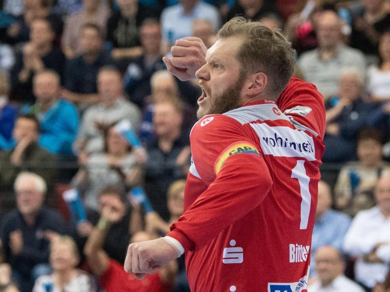 Johannes Bitter steht in der Bundesliga für den TVB Stuttgart im Tor
