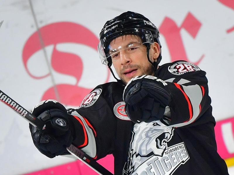 Kapitän der Nürnberg Ice Tigers: Patrick Reimer
