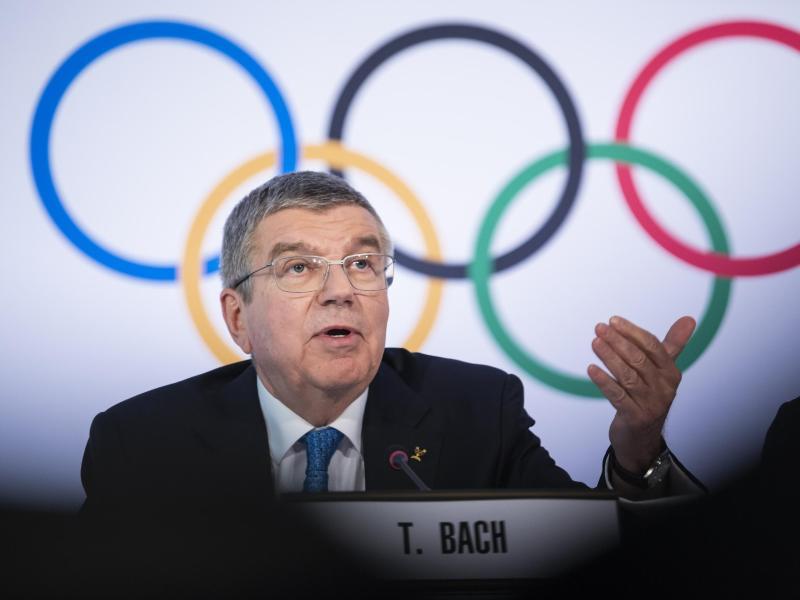 Thomas Bach hat über die Olympia 2021 gesprochen