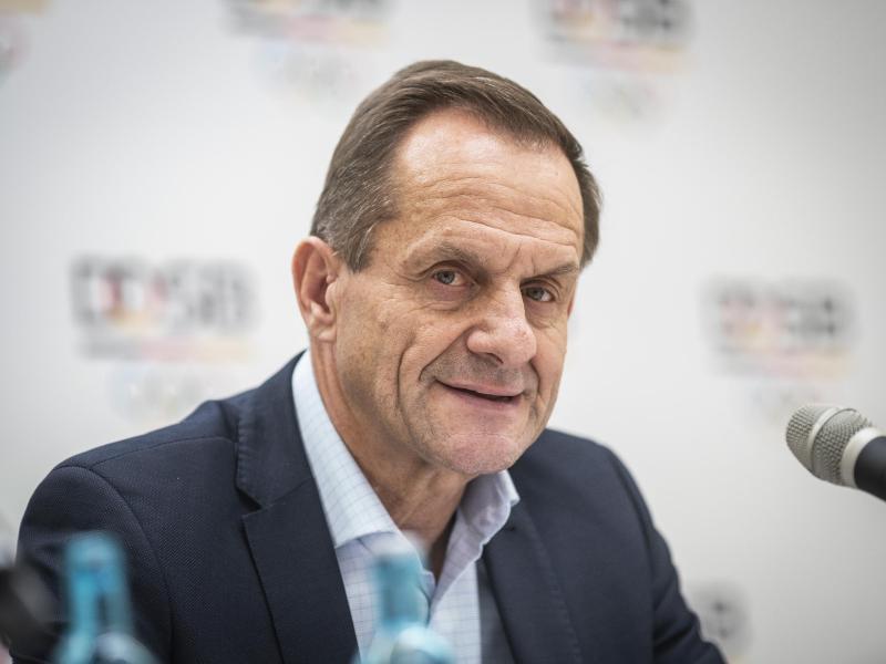 Alfons Hörmann fürchtet als Folge der Corona-Krise einen Mitgliederschwund und ein Vereinssterben