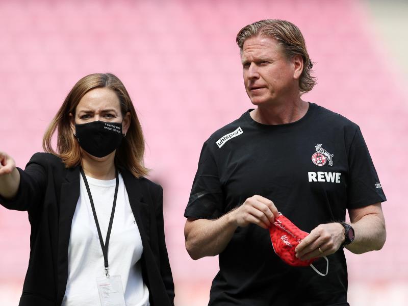 Hat mit Köln im Rheinderby Düsseldorf zu Gast: FC-Coach Markus Gisdol. Foto: Lars Baron/Getty/Pool/dpa