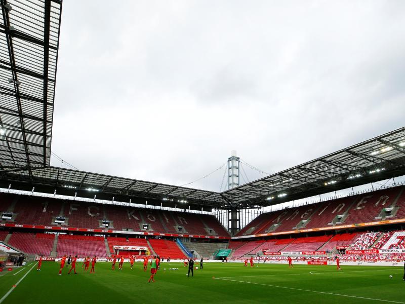 Auch beim Rhein-Derby zwischen dem 1. FC Köln und Fortuna Düsseldorf fehlten die Fans im Stadion