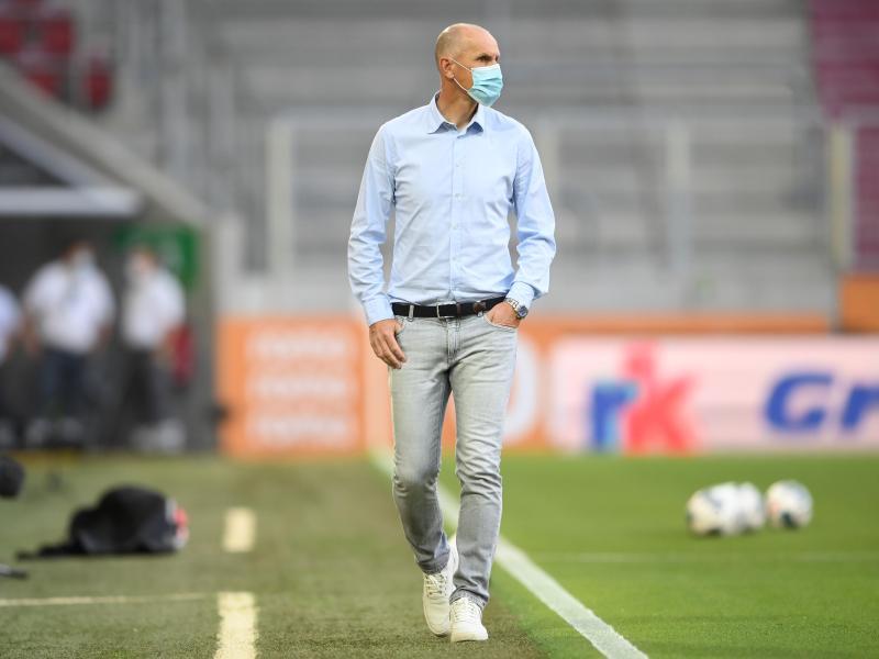 Wollte nur mal eben Zahnpasta kaufen gehen:Augsburg-Coach Heiko Herrlich