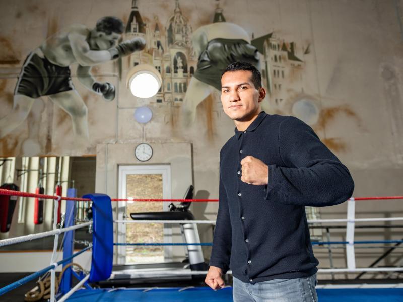 Jack Culcay, ehemaliger WBA-Weltmeister im Halbmittelgewicht, steigt in Berlin in den Ring
