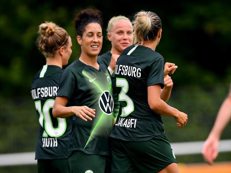 Die Wolfsburgerinnen sind ins Finale des DFB-Pokals eingezogen