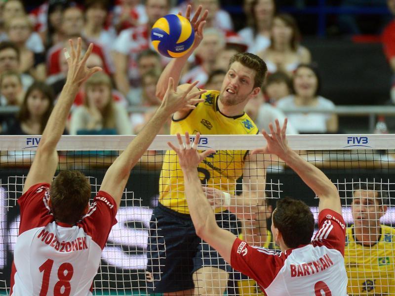 Eder Carbonera (M) spielt jetzt für die Berlin Volleys