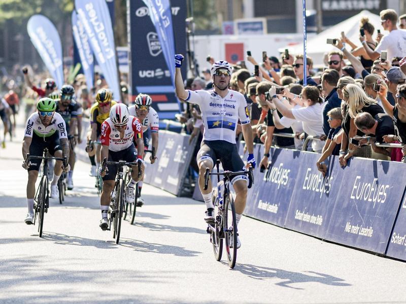 Der italienische Sprinter Elia Viviani hatte die Cyclassics im vergangenen Jahr gewonnen